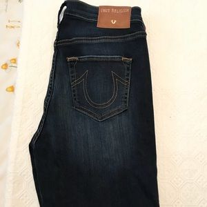 True Religion never worn skinny jean size 29